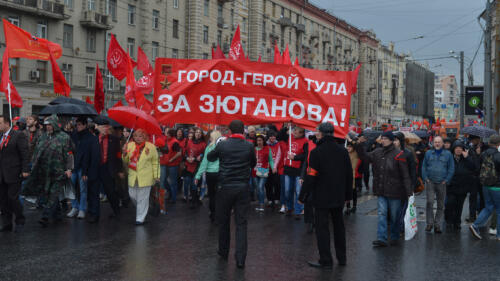 1. May parade Moscow Russia