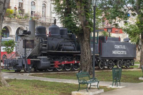 Train Museum Havana Cuba