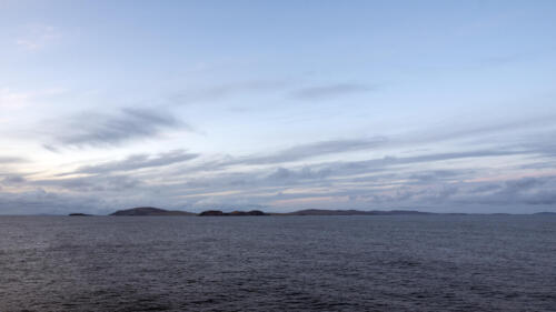 Shetland Islands, seen form south
