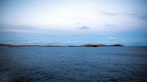 Shetland Islands, seen form south