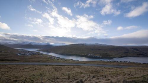 Oyrarbakki - 44 km. nord for Torshavn